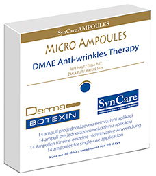 SynCare - Micro Ampoules DMAE anti-wrinkles therapy - kůra na 28 dnů